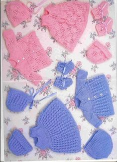 Crochet Baby Mittens Newborns Yarns 17 New Ideas Knitting Dolls Clothes, Baby Doll Clothes, Knitted Dolls, Doll Clothes Patterns, Doll Patterns, Baby Dolls, Knitting Needle Sets, Baby Knitting Patterns, Free Knitting