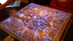 The Pyro Board: A Two Dimensional Ruben's Tube