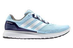 #Adidas Duramo 7 W - rekomendowany dla początkujących o niskiej wadze biegaczek,  trenujących na utwardzonych nawierzchniach miejskich. Wyposażone wspomagającą amortyzację która zapewnia wysoki komfort biegania. #jesienzima2015 #treningowe #adiwear #adiprene
