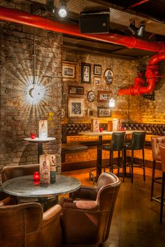 Revolućion De Cuba, Peter Street, Manchester. Designed by Julian Taylor Design Associates for  Inventive Bars.