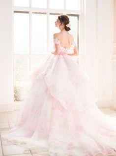 着てみたい!KIYOKO HATAとmarryコラボの可愛すぎるウェディングドレスを完全初公開*にて紹介している画像