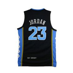 michael jordan north carolina jersey black