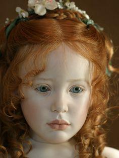 So special....Jeanne Gross doll designer