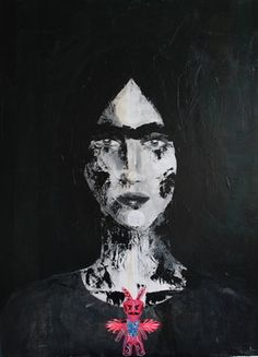 "Saatchi Online Artist aga baranska; Painting, ""Mexicana"" #art"