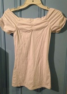 Buy my item on #vinted http://www.vinted.com/womens-clothing/other-tops/19566486-bright-white-fitted-top-size-small