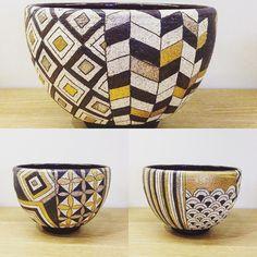 伊藤千穂さん煌抹茶碗一つで色々な表情があります #織部 #織部下北沢店 #陶器 #器 #ceramics #pottery #clay #craft #handmade #oribe #tableware #porcelain