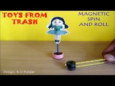 MAGNETIC SPIN AND ROLL - ENGLISH - Fun with magnets! - YouTube