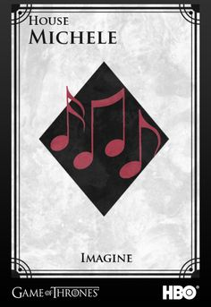 Lea Michele's Sigil #gameofthrones #glee #leamichele #jointherealm