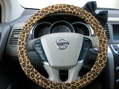 The Original Cheetah Steering Wheel Cover with by BeauFleurs