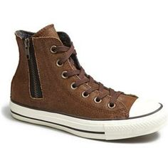 Converse Chuck Taylor® 'Aviator' Side Zip Leather High Top Sneaker | Nordstrom