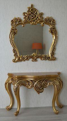 Antique Victorian Mirror Design Ideas For Home Decor - Silver Furniture, Royal Furniture, Victorian Furniture, Classic Furniture, Home Decor Furniture, Luxury Furniture, Furniture Design, Victorian Mirror, Living Room Designs