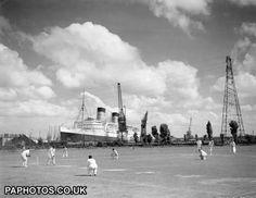 Transport - RMS Queen Elizabeth - Southampton | Ocean Liners | Friends Reunited