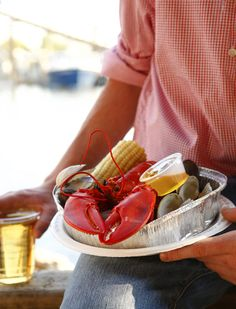 10.  Must have a summer Lobster Clambake