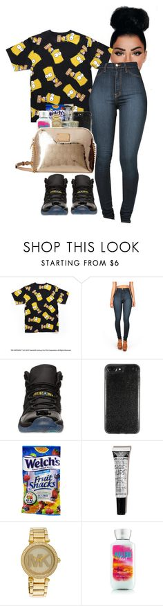 """#Bodakyellow"" by kraveechayechaye ❤ liked on Polyvore featuring Retrò and Michael Kors"