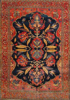 Type :Sarouk - Ferahan Origin :Iran Circa :1890 Size :        223 X 299