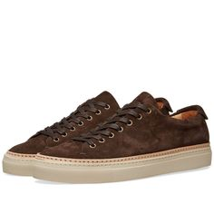 7fc5ff026 Buttero Tanino Low Suede Welt Sneaker T. Moro 1 Louis Vuitton, Converse