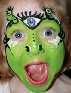 alien face paint - Google Search