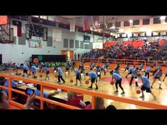 Ball Handling routine by fifth graders - YouTube