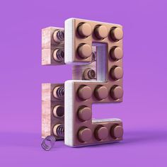 Numbers type by rdn studio ™, via Behance