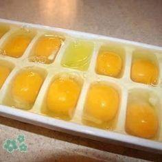 Trucos para congelar los huevos frescos y disponer de ellos durante meses.
