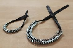 Happiness Does Complete a Home: DIY Hex Nut Bracelet and Necklace