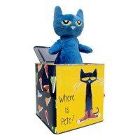Pete The Cat® Jack-in-the-Box  Toys