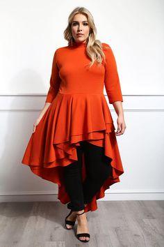 Alandri loves the high-low tunic style