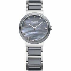 1203cc9f4888f BERING Ladies Watch Wristwatch Slim Classic - 10725-789 Stainless Steel   Wristwatches