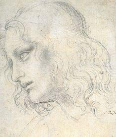 Study for the Last Supper: James - Leonardo da Vinci