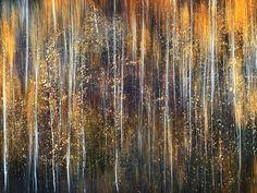 An Autumn Song Stretched Canvas Print by Ursula Abresch at Art.com