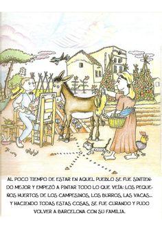 La pequeña historia de joan miro Joan Miro, Comics, Children's Books, Kid Art, Historia, Kids Education, Preschool Education, Cows, Activities For Kids