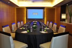 Lewis - Boardroom setup for meetings and conferences
