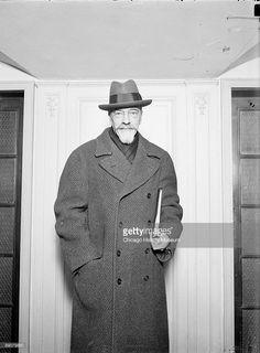"""Grand Duke Alexander Mikhailovich Romanov of Russia in Chicago,USA in 1929. """"AL"""""""