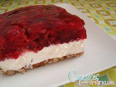 Cupcakes with Sprinkles: Raspberry Pretzel Jell-O