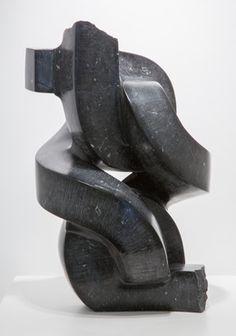 PAUL BLOCH Nero, 2009 Marquina marble 25 × 14 × 15 in 63.5 × 35.6 × 38.1 cm