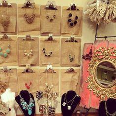 Cherry Lane Boutique Jewelry Display