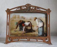 4897409d8d2 Jugendstil fotolijstje met schilderij. Antique FramesArt Nouveau Design MirrorsFramesArt ...