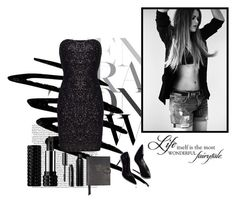 """""""All the rage"""" by enigmaxx ❤ liked on Polyvore featuring Noir Cosmetics, Kat Von D, Oribe and Smythson"""