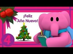 Merry Christmas the Fireplace is Back For -Pocoyo Pato's New Year Resolu...