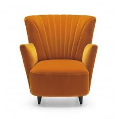 Armchair Vignola  Technical characteristics: body - beech wood, chipboard, plywood  Seat and back: foam upholstery, springs  Legs: wood, Upholstery: wool (fabric: group iv)  color: yellow - as pictured   Dimensions (cm): w - 84, d - 88, H - 95