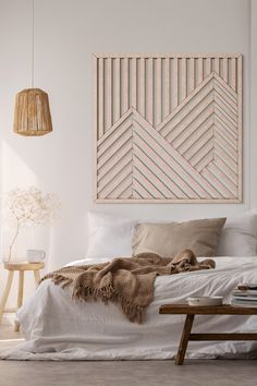 This Mountain Wood Wall Art will make a beautiful centerpiece of your decor! Modern Wooden Wall Art Art is a perfect way to complement the decor at your home! Besides, our Geometric Wood Wall Hanging will be a great present for your loved ones! Wooden Wall Decor, Wooden Walls, Wall Wood, Wooden Wall Panels, Wood Wall Paneling, Wooden Wall Design, Panelling, Wooden Art, Wood Planks
