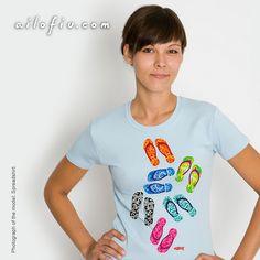 """Slippers"" t-shirt by ailofiu tees"