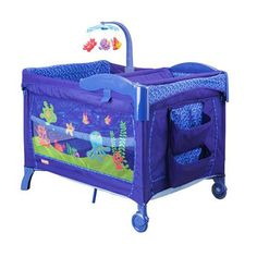 Fisher Price Ocean Wonders Deluxe Play Yard