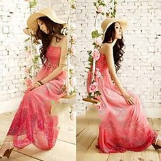 Bohemia Rural Elegant Chiffon Dress