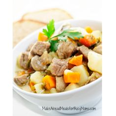 Easy Slow Cooker Pot Roast | Make Ahead Meals For Busy Moms