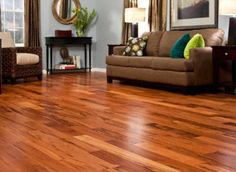 Brazilian Koa hardwood flooring - should be here in 7 days - then to get it installed on the entire main floor of the house :) can't wait!