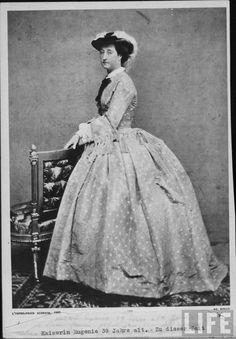 1865 Empress Eugenie