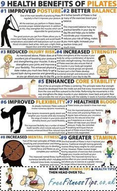 Health Benefits of Pilates enhance our way of learning and concentration