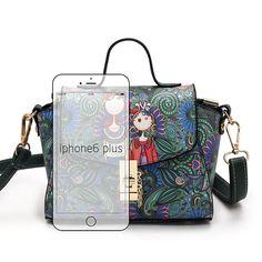 Bolsa de Ombro Feminina Betty Boop Resultados Material Plutônio Estilo  Fashion Formato Trapeze Estampa dos Desenhos Animados Decoração Apliques 66ba453c636