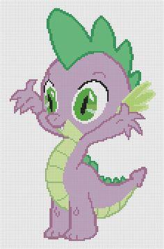 My Little Pony Spike Cross-stitch Pattern